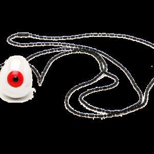 Κολιέ λευκό μάτι_3417
