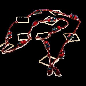 Κολιέ χάντρες τετράγωνα_3423