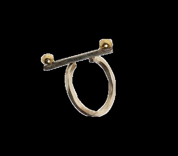 Δαχτυλίδι βέργα μπίλιες_5820